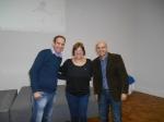 Daniel e Dr. Marcos Welber (MT PLus) com Branca Barão