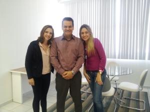 Melissa, André e Haidê