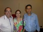 Adriano da Elev Treinamentos com Martha e Davi do Atibaia Residence Hotel