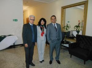 Luis, Suely Leão da ABRH SP e André