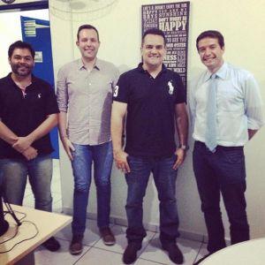 Anderson, Marcos, André e Lázaro