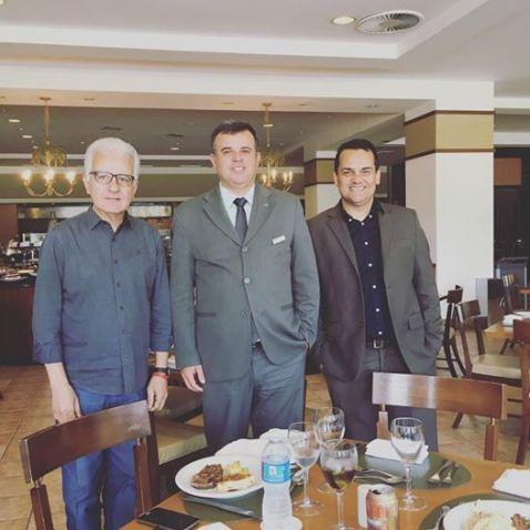 Luís Marcondes, Cristiano Silva e André Mancuso
